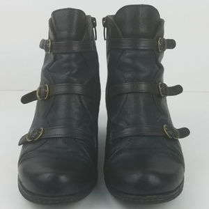 Eric Michael Womens Lena Boots Size 8 Ankle Bootie